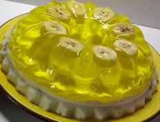 Banana jelly