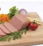 Canned chicken meat