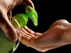 Hand gel, antiseptic
