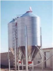 Bulk Grain Silos