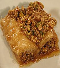 Honey baklava